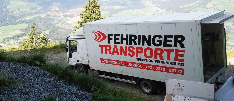 fehringer transporte: spedition Fehringer, internationale umzuege